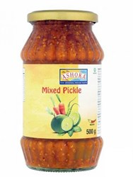 Bild von 3x Ashoka Mixed Pickle Medium 500g
