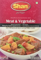 Bild von 5x Shan Meat Vegetable 100g
