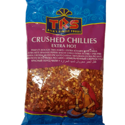 Bild von 2x TRS Crushed Chillies extra hot 250g