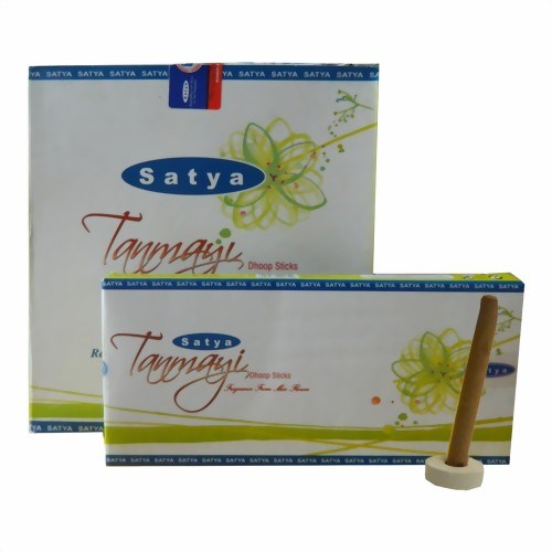 Bild von 120 palos de incienso Satya Tanmayi Dhoop Sticks