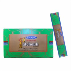 Bild von 180g varillas de incienso Satya Patchouli Natural