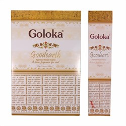 Bild von 180g varillas de incienso Goloka Good Earth Masala Incense