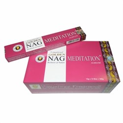 Bild von 180g Incensi Golden Nag Meditation