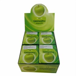Bild von 120 conos de incienso Green Apple manzana verde pack