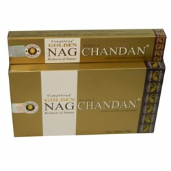 Bild von 180g varillas de incienso Golden Nag Chandan