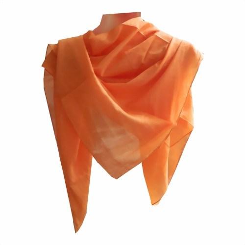 Halstuch 50 x 50 cm türkis Baumwolle 1A Qualität Einfarbig Uni Tuch PORTOFREI