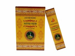 Bild von 180g varillas de incienso Ayurvedic Nature Fresh Masala Incense