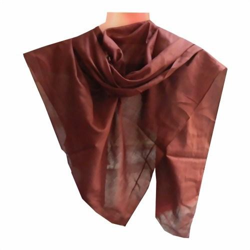 Halstuch 50 x 50 cm violett Baumwolle 1A Qualität Einfarbig Uni Tuch PORTOFREI